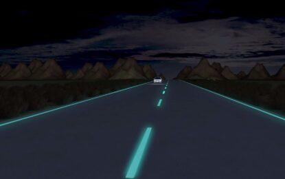 Светеща магистрала се появи в Холандия