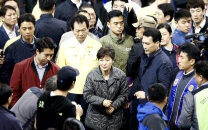 """Президентът на Южна Корея нарече """"убийство"""" трагедията с ферибота"""