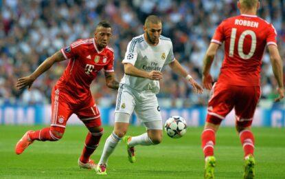 """""""Реал"""" взе минимална преднина срещу """"Байерн"""""""