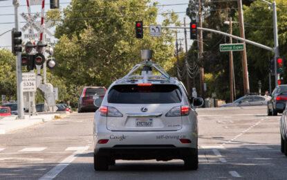 Как самоуправляващата се кола на Google се справя в градски условия