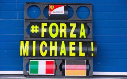 Михаел Шумахер показва малки признаци на подобряване