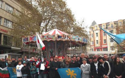 На митинг в  Пловдив Бареков поиска оставката на кмета