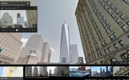 Google Street View става машина на времето
