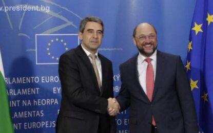 Плевнелиев се надява европейският дневен ред да измести вътрешното противопоставяне