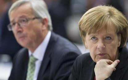 Меркел зад Юнкер за шеф на Европейската комисия