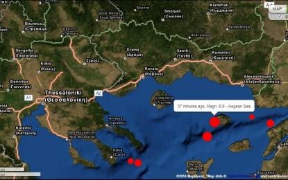Земетресение с епицентър в Бяло море люля България