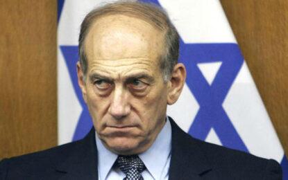 Съд в Израел осъди бивш премиер на 6 г. затвор за корупция