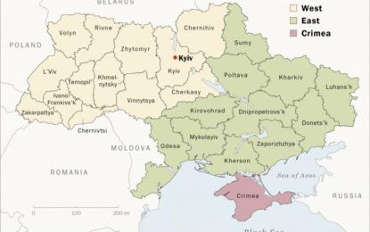 Проучване на Pew: Украинците искат единна държава