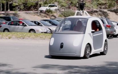Стъпка напред за безпилотната кола на Google