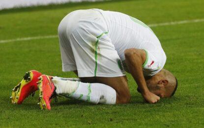 Алжир е на осминафинал за пръв път в историята