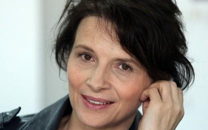 Жулиет Бинош в един филм в София