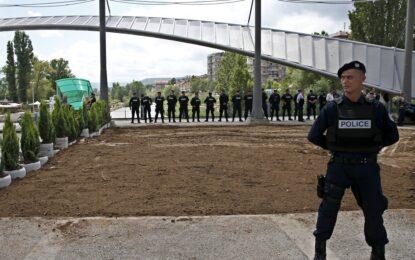 Протест в разделен косовски град завърши с насилие