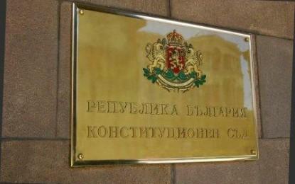 Конституционният съд образува дело за касиране на вота