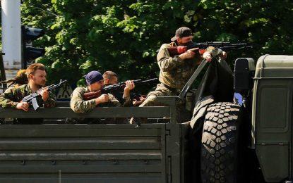 Огънят от Източна Украйна прескочи в Русия