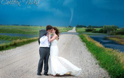 Сватба в окото на бурята