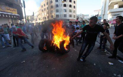 Западният бряг се вдигна в подкрепа на Газа