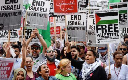 Израелско-палестинската война за общественото мнение