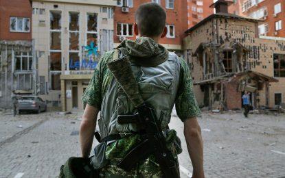 Четници, чеченци и интербригадисти в Източна Украйна