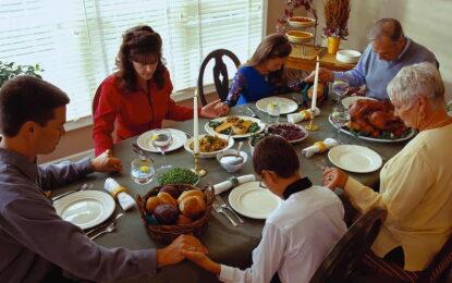 15% отстъпка от сметката – за молитва преди хранене
