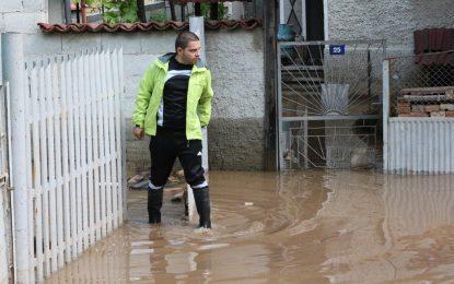 Дъждът удави села край София, Пловдив, Враца и Монтана