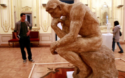 Над 23 000 видяха творбите на Роден