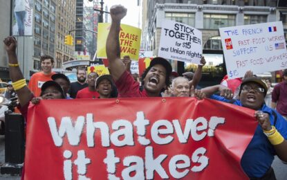 Масова стачка остави Америка гладна