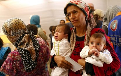 Шестте най-богати държави са приели едва 9% от бежанците по света