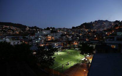 Футболно игрище или електроцентрала?