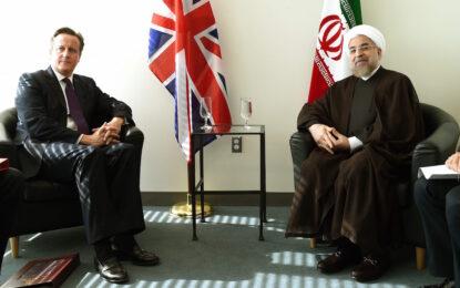 Камерън с историческа среща с иранския президент