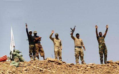 Кюрдските сили настъпват срещу ИДИЛ в Ирак