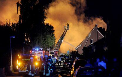Евакуираха град в Германия след взрив в химически завод