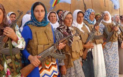 """Кюрдските бойци спряха """"Ислямска държава"""" в Кобане"""