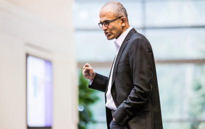 Сексистка шега обърка кармата на шефа на Microsoft