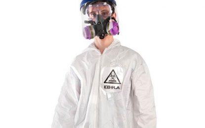 Костюм срещу ебола за Хелоуин разбуни духовете онлайн