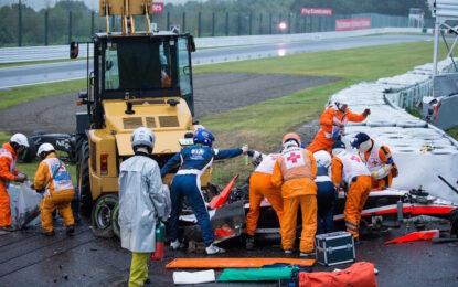 """Пилот от Формула 1 с тежка травма на главата на """"Сузука"""""""