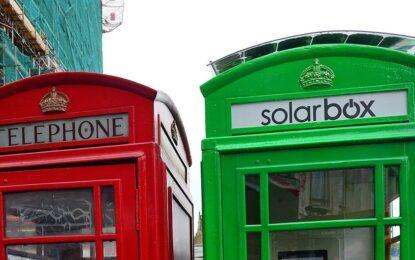 Телефонните кабини в Лондон позеленяват