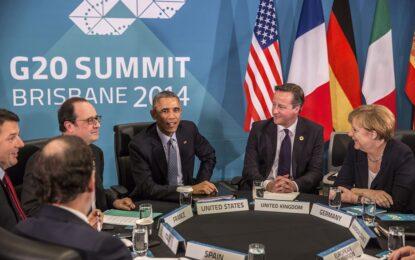 Лидерите от Г-20 спасяват растежа и климата