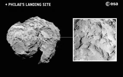 Космически апарат ще опита да кацне на комета за пръв път