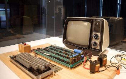 Продават на търг първия компютър на Apple