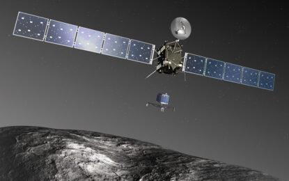 Сондата Philae откри органични молекули на кометата