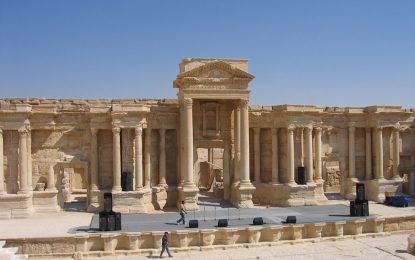 """""""Халифатът"""" напредва към древните руини на Палмира"""