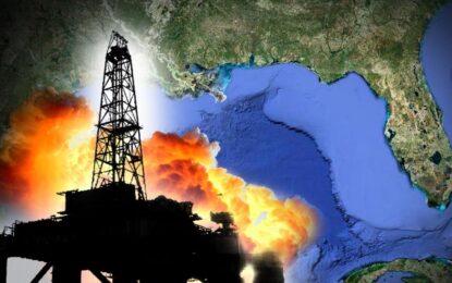 Взрив на нефтена платформа в Мексиканския залив уби човек