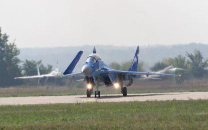 МиГ-29 се разби до училище в околностите на Москва