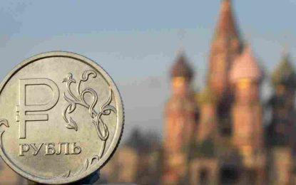 Русия изпразва валутните си резерви в подкрепа на рублата