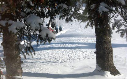 2015 идва със студ, сняг и вятър