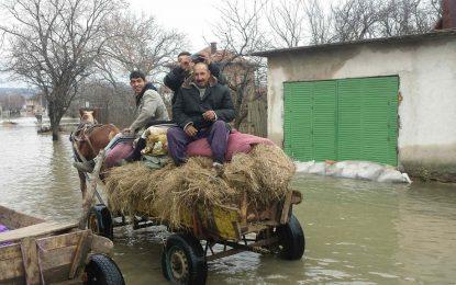Югоизточна България се съвзема от наводненията постепенно