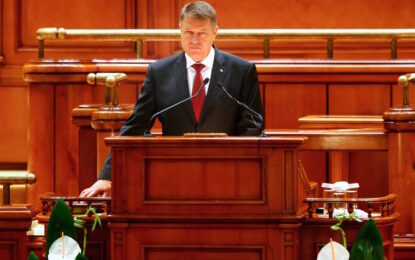Йоханис обещава да пребори корупцията в Румъния