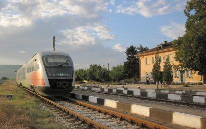 Най-бавният влак в света пътува до Гюешево