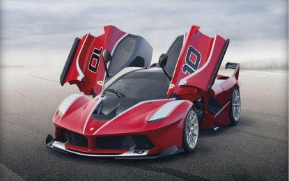 Ferrari показва най-екстремната си суперкола в Дубай