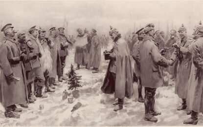 Коледа по време на война
